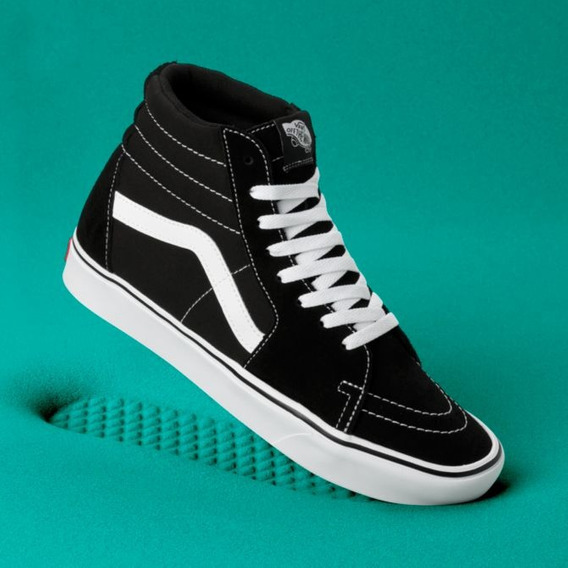 Vans Sk8-hi Comfycush Tenis 24cm / 6us Sneaker Modelo Nuevo