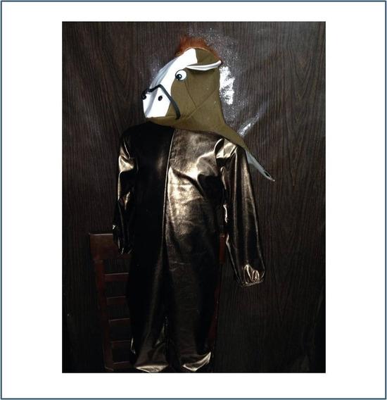Disfraz De Caballo Para Niño Talla #4 8 Y 10 R