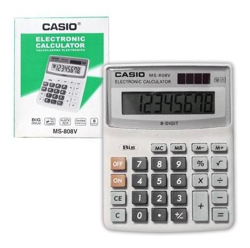 Calculadora Casio 8 Digitos Solar