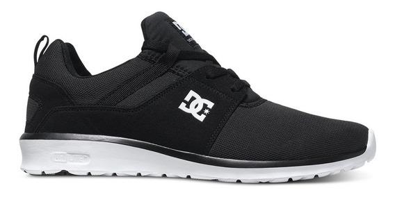 Tenis Hombre Heathrow Adys700071 Bkw Negro Dc Shoes