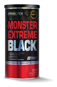 Monster Extreme Black 22 Packs - Novo - Promoção