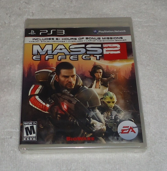 Mass Effect 2 Ps3 Lacrado ** Frete Gratis Leia