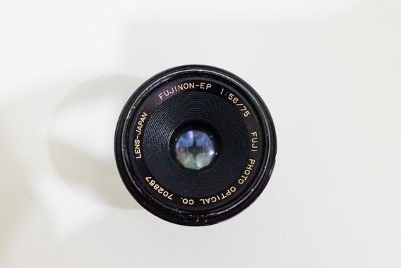 Lente Objetiva Fujinon Ep 75mm F5.6 Formato 6x6 Negativo 120