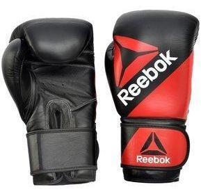 Guantes De Boxeo Reebok Rscb-10110rd-14 Negro