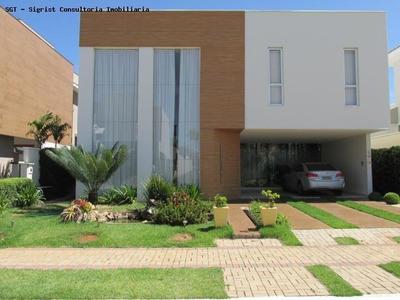 Casa Em Condomínio A Venda Em Indaiatuba, Condominio Maison Du Parc, 4 Dormitórios, 4 Suítes, 2 Banheiros, 5 Vagas - 075