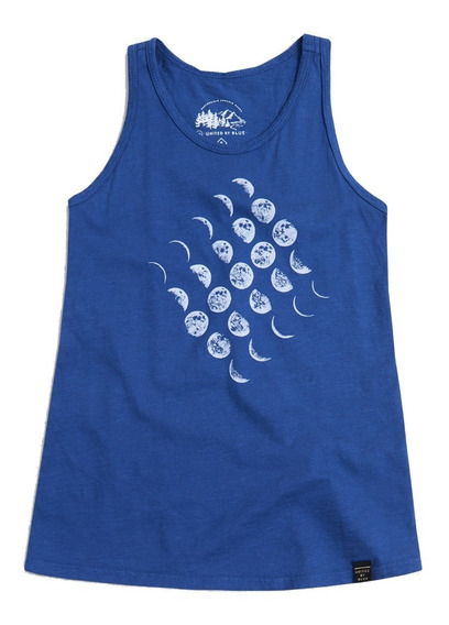 Polera Niña Ciclo Lunar Algodón Orgánico United By Blue