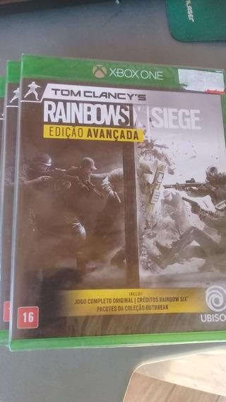 Rainbow Six Siege Xbox One Edição Avançada Lacrado
