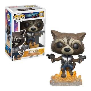 Funko - Marvel Guardianes De La Galaxia Rocket #201