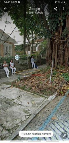 #=terreno À Venda, 1080 M² Por R$ 17.172.000 - Vila Mariana - São Paulo/sp - Te0122