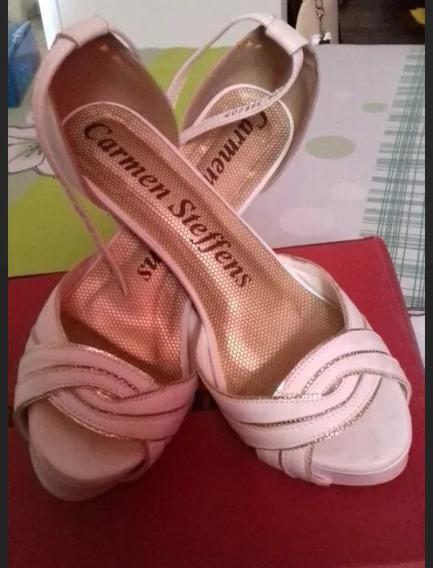 Sandalia Carmen Steffens.... Ideal Para Noivas