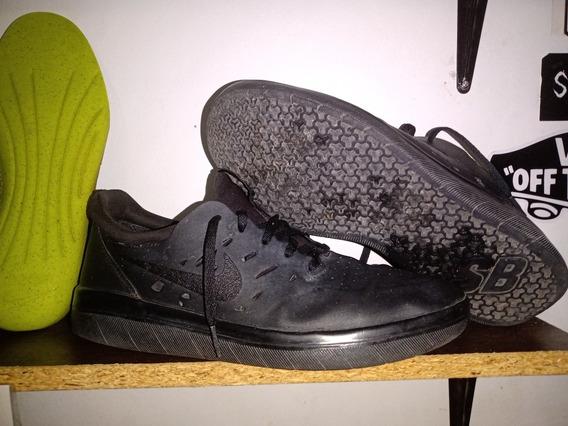 Zapatillas Nike Nyjah Free Triple Black