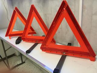 Triángulos Reflejantes De Emergencia Juego De 3