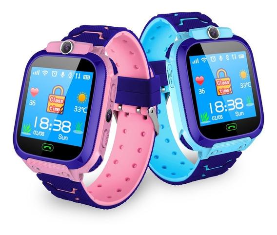 Magideal Rosa Crianças Relógio Inteligente Relógio De Pulso