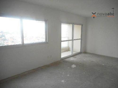 Apartamento Com 3 Suítes À Venda, 136 M² Por R$ 578.000 - Vila Valparaíso - Santo André/sp - Ap1325