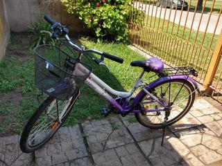 Bicicleta Aurora Rodado 24 De Nena , Equipo Shimano