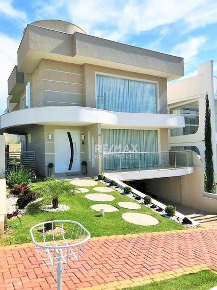 Casa Residencial À Venda, Condomínio Reserva Dos Vinhedos, Louveira. - Ca5628
