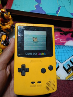 Consola Nintendo Gameboy Color Amarilla Oferta