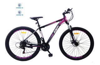 Bicicleta Ksp Mountain Rodado 29 Susp Shimano 21 Vel Talles