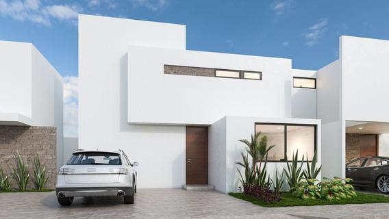 Casa En Preventa En Privada Otavia En Conkal Mod. 140