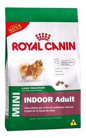 Ração Royal Canin Mini Indoor Adult Raças Pequenas 7,5 Kg -