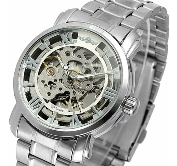 Relógio Winner,automático E A Corda, Feminino,modelo H005m