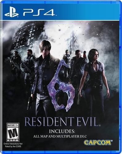 Resident Evil 6 Ps4 Juego Nuevo Cd Original Fisico Sellado