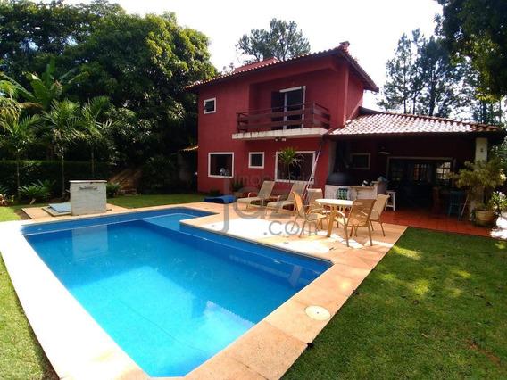 Chácara Com 3 Dormitórios À Venda, 1000 M² Por R$ 940.000,00 - Barão Geraldo - Campinas/sp - Ch0088