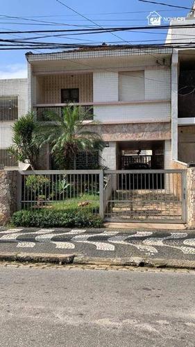 Casa À Venda, 240 M² Por R$ 2.000.000,00 - Gonzaga - Santos/sp - Ca1223