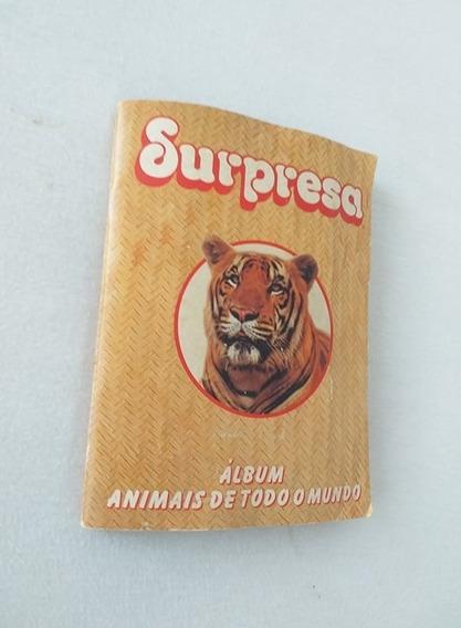 Album Chocolate Surpresa Completo ( Animais Do Mudo)