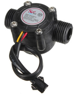 Caudalimetro Sensor Flujo Caudal Agua 1/2 1-30l/min Arduino