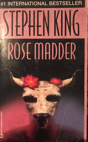 Livro Rose Madder Stephen King Em Inglês