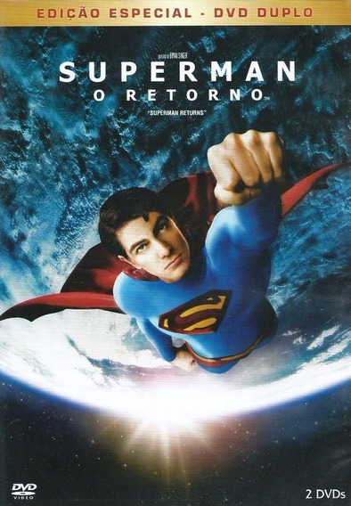 Dvd - Superman - O Retorno - Brandon Routh - Lacrado