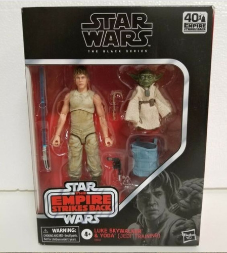 Star Wars Black Series Luke Skywalker Y Yoda Jedi Training 6