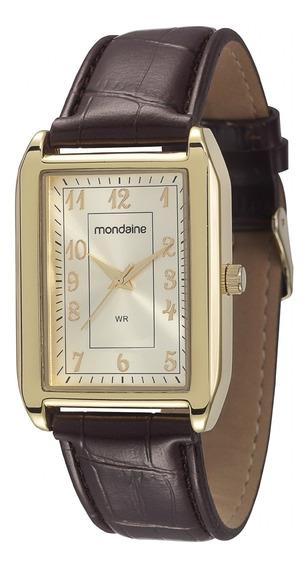 Relógio Unissex Mondaine Pulseira De Couro 83285gpmvdh2