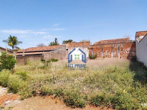 Terreno À Venda, 375 M² Por R$ 130.000 - Jardim Arroyo - São José Do Rio Preto/sp - Te1359