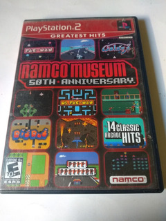 Namco Museum 50th Anniversary Ps2 Playstation