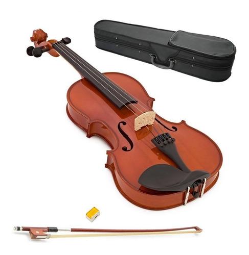 Imagen 1 de 6 de Yirelli Violin 4/4 Completo Estuche Arco Resina  4/4 Cuotas