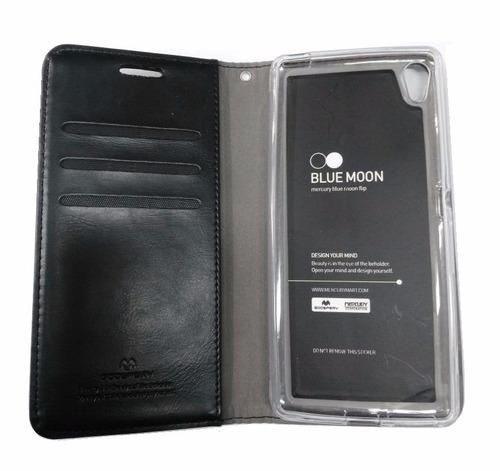 Sony Xperia Xa Funda Cuero Flip Cover Estuche Case Protector