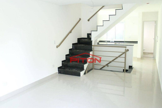 Sobrado Com 3 Dormitórios À Venda, 180 M² Por R$ 735.000,00 - Tatuapé - São Paulo/sp - So2405