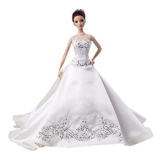 Boneca Barbie Noiva Reem Acra Bride Barbie Doll K7968