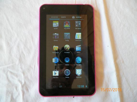 Tablet Multilaser M7 Rosa 7 Polegadas