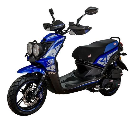 Motocicleta Scooter Rx Limited 150cc Azul