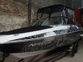 Lancha Navalcenter Open Sport 210 C/mercury 200 Hp Y Trailer