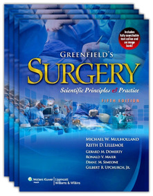 Greenfield Surgery - Scientific Principles And Practice