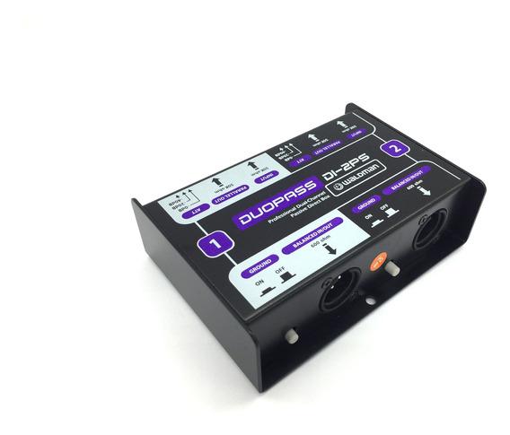 Direct Box Duplo 2 Canais Passivo Di-2ps Nf Garantia Duopass
