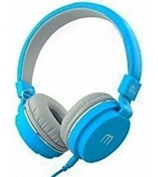 Fone Ouvido Favix F2023 P2 Colorido Com Microfone Azul