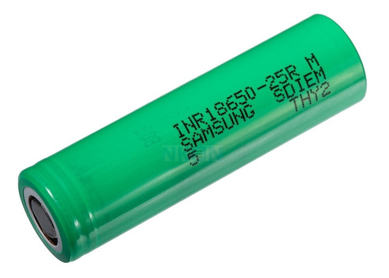 2x Bateria Samsung Inr18650 25r 2500mah 20a 3.7v Original!