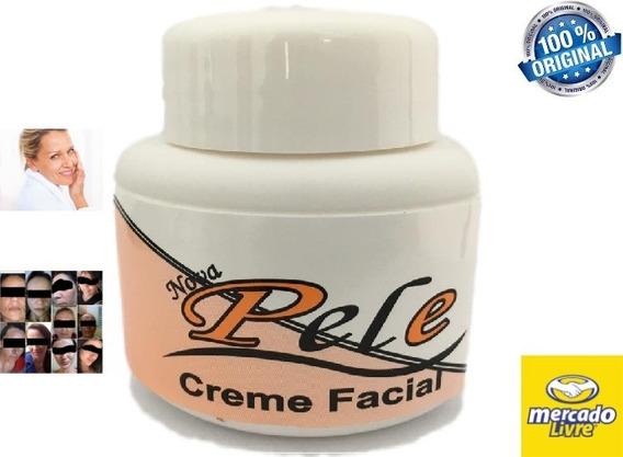 Nova Pele Creme Facial Clareador - Manchas De Melasma