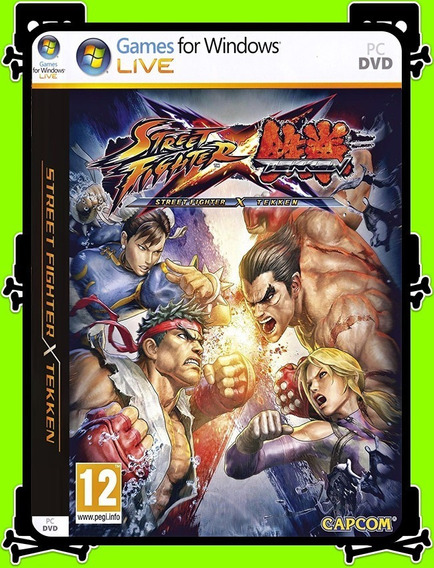 Street Fighter X Tekken Pc - 100% Original (steam Key)