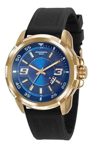Relógio Masculino Mondaine 99341gpmvdi2 Dourado